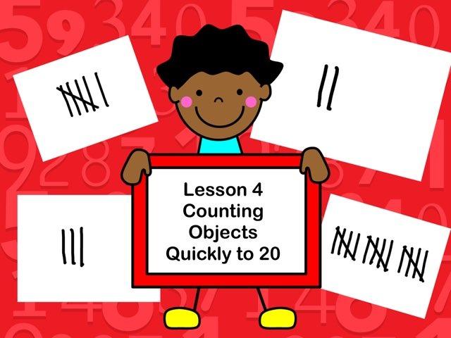 Subitizing- Lesson 4 by Jennifer
