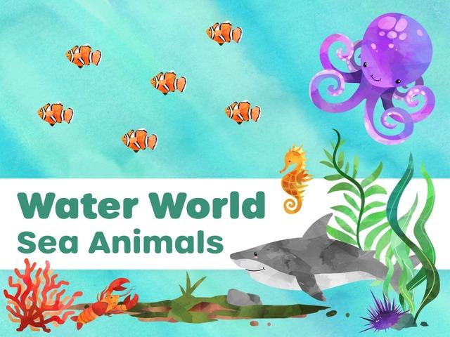 Water World: Sea Animals by Hadi  Oyna
