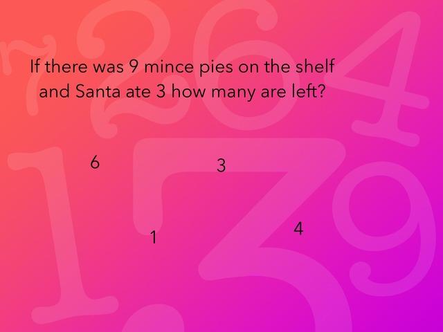 Christmas Maths Quiz!!! by Gemma Clarke