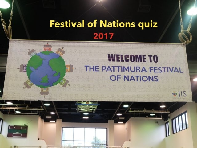 Festival Of Nations Quiz 2017 by Leslie Henry