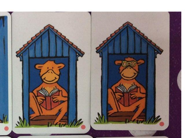 קוף קורא ספר by Neta Perri