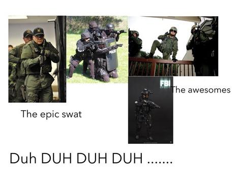 Fbi vs SWAT by Nguyen Le
