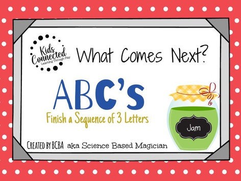 What Comes Next ABC's: Jam Edition by Kids  Connected
