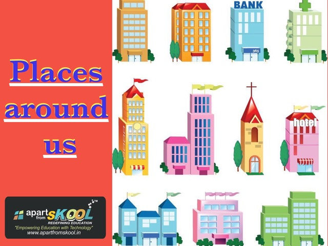 Places Around Us by TinyTap creator