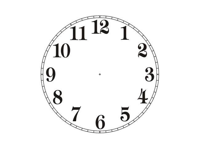 Clock Face by Michelle-Natali Omeljantsuk