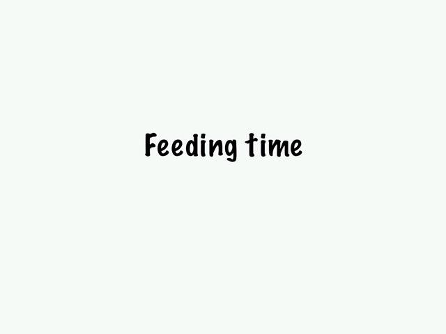 Feeding Time by Siti Fatimah