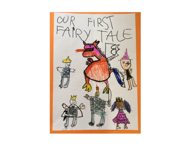 OUR FIRST FAIRY TALE by Luiza Alvarenga