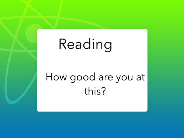 How are you at reading by Penelope Johnson