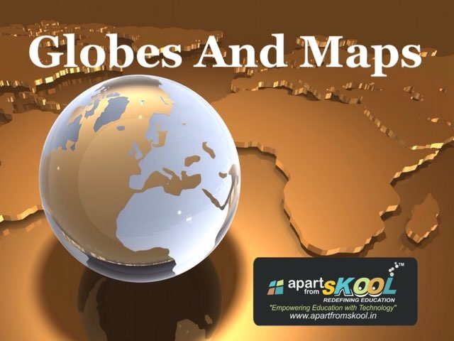 Globes And Maps by TinyTap creator