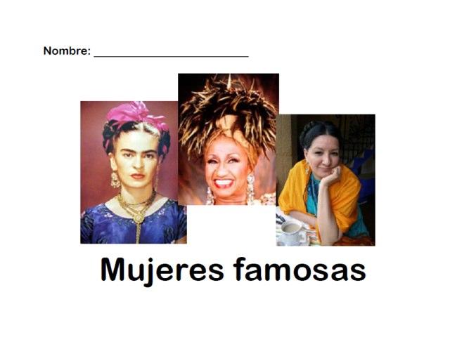 Mujeres famosas by Allison Shuda