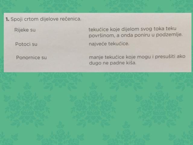 Vode Tekućice I Stajaćice by Marijana Čavlović