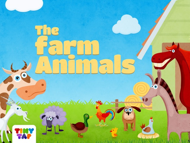 Farm Animals Game by Tiny Tap