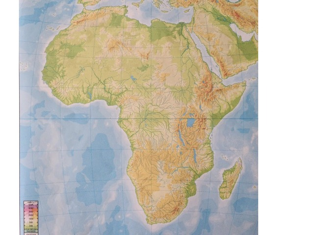 Relieve Africa by Alvaro Del Barco Gil