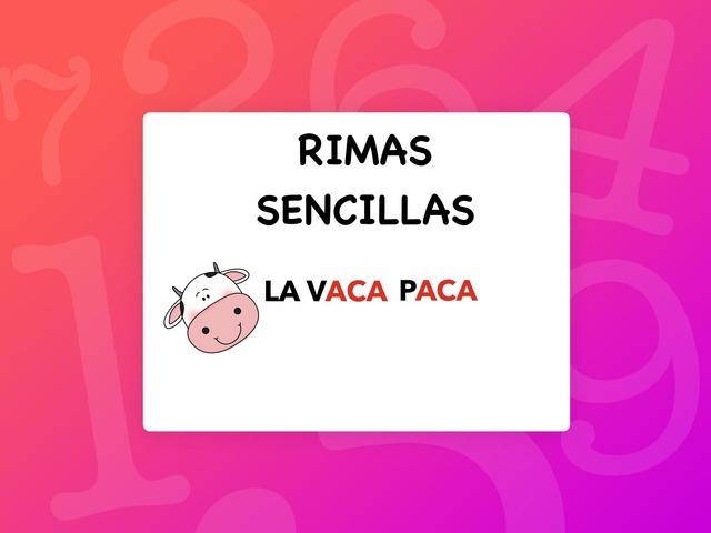 RIMAS SENCILLAS by Francisca Sánchez Martínez