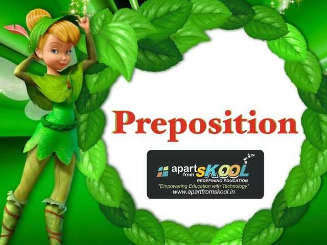 Preposition  by TinyTap creator