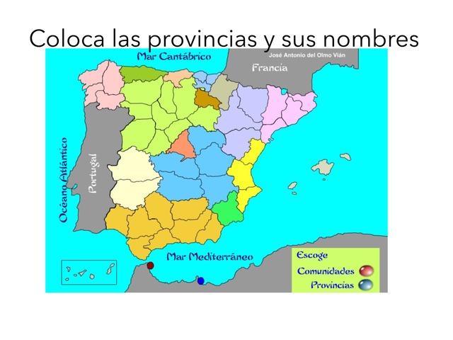 Provincias De España by Adriana Ruiz Moreno