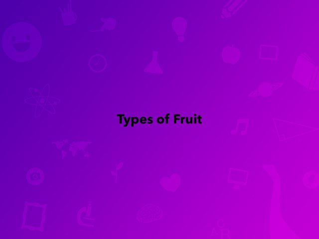 Type Of Fruit by Frances Chapin