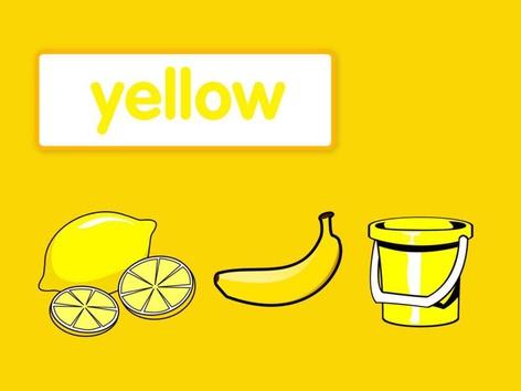Colours: Yellow #1(EN UK) by Carol Smith