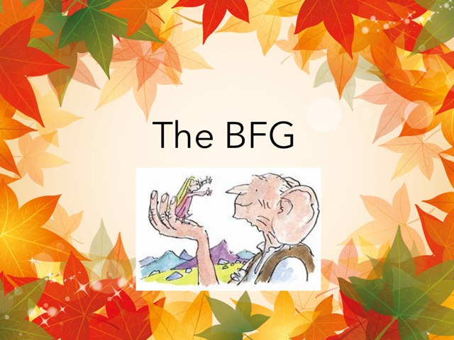 BFG Simple Sentences by Laura Simpson