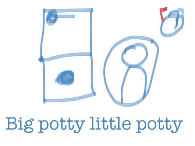 BIG POTTY little potty by Malice Chip