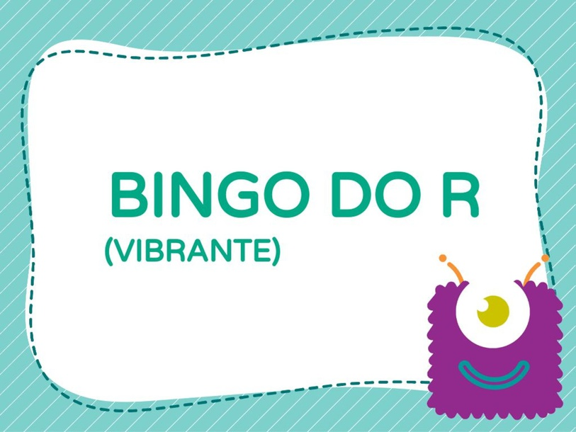 BINGO DO R by Carolina Molina Lucenti de Souza Balani