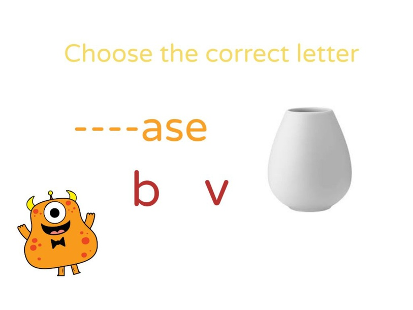 B or V? by Nelly flores