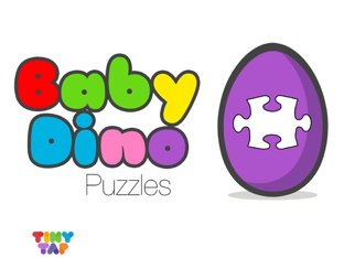 Baby Dino Puzzles by Tiny Tap
