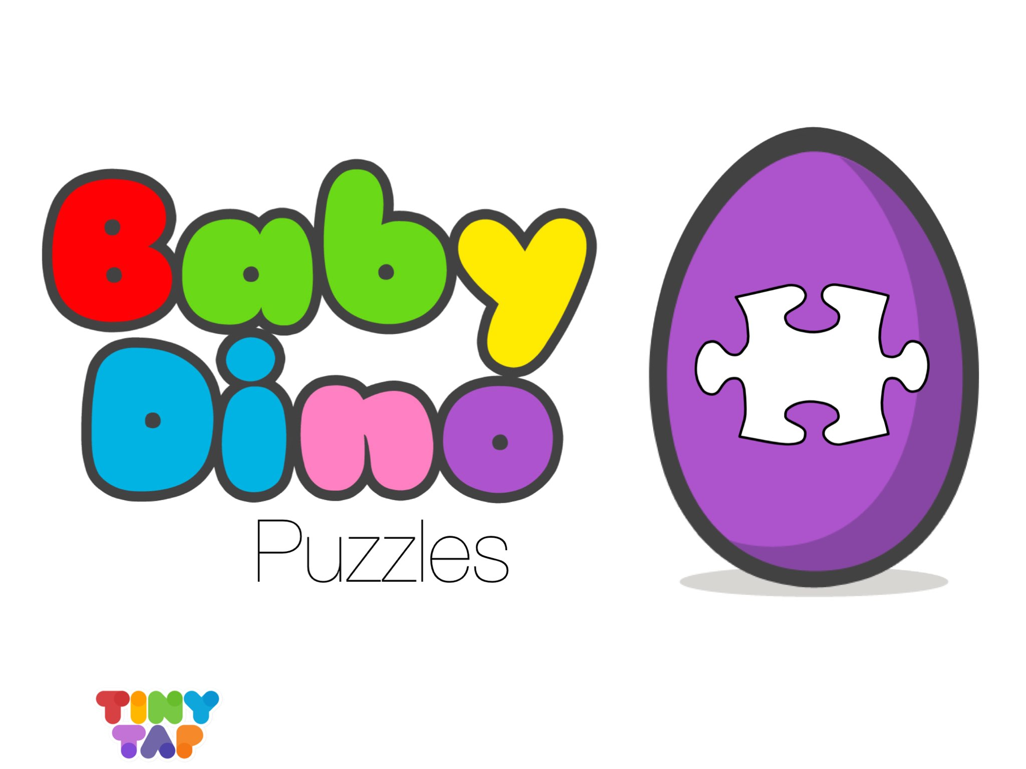 Baby Dino Puzzles - In Baby Dino Puzzles, kids get to practice their  matching skills. There are six dinosaurs in different pretty colors.