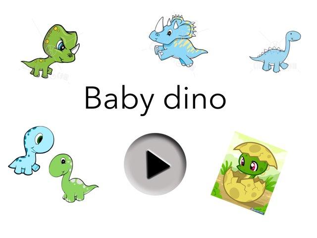 Baby Dino by Jennifer Riu