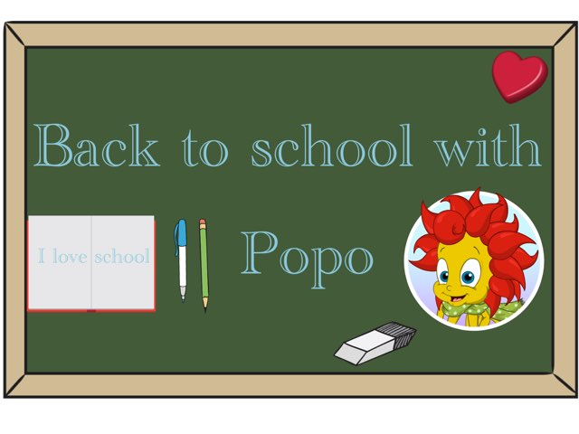 Back To School With Popa by Lamar Majed