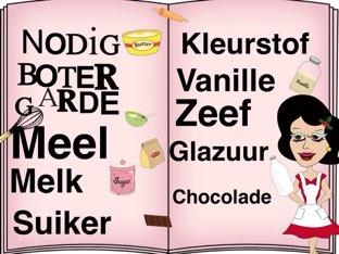 Bak Je Cake by isabelle Sonnemans