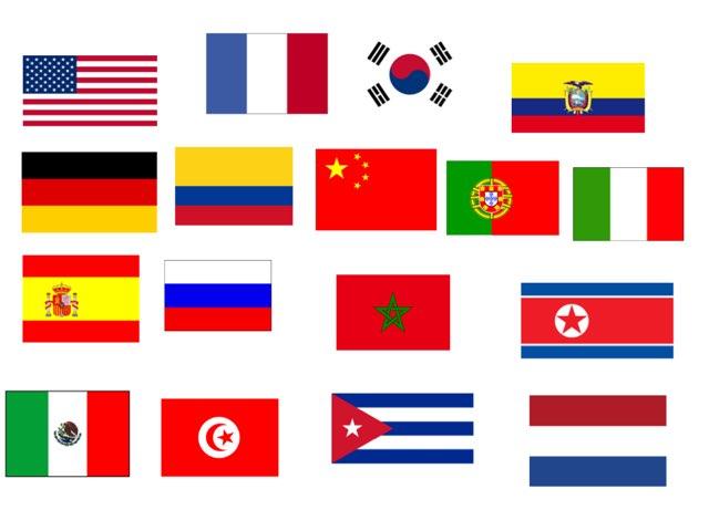 Banderas Del Mundo by Rodrigo Busto