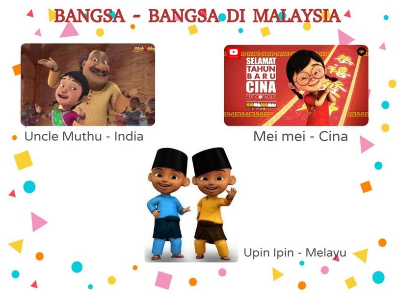 Bangsa-Bangsa Di Malaysia by Slashca me