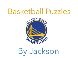 Basketball Puzzles by Jackson Watts