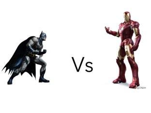 Batman Vs Iron Man by mcpake family