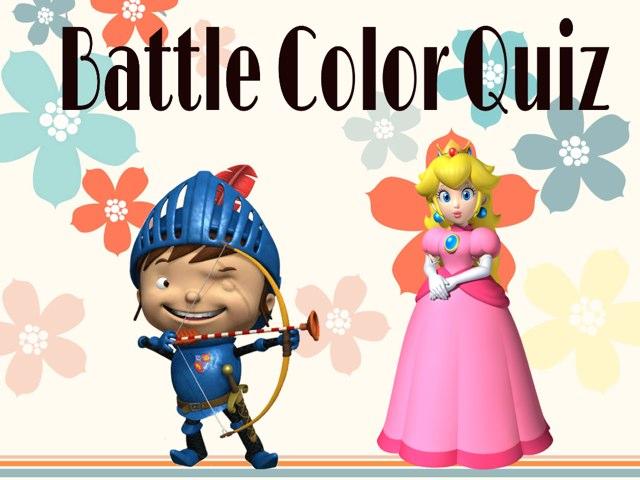 Battle Color Quiz by Laura B. Vmii