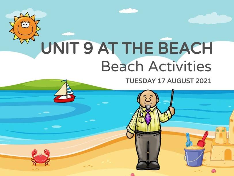 Beach Activities Listening  by Miss Dharvena Segeranazan