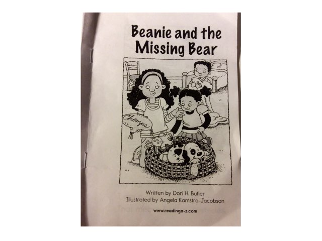 Beanie And The Missing Bear Read Aloud by Chanel Sanchez
