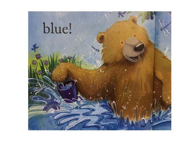 Bear Sees Colors: Wh- Questions by Amanda Merrill