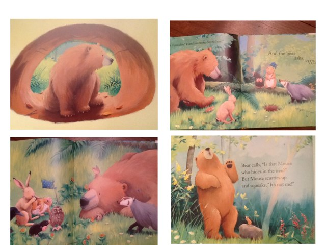 Bear's New Friend - Sequence Game by Holly Whitt