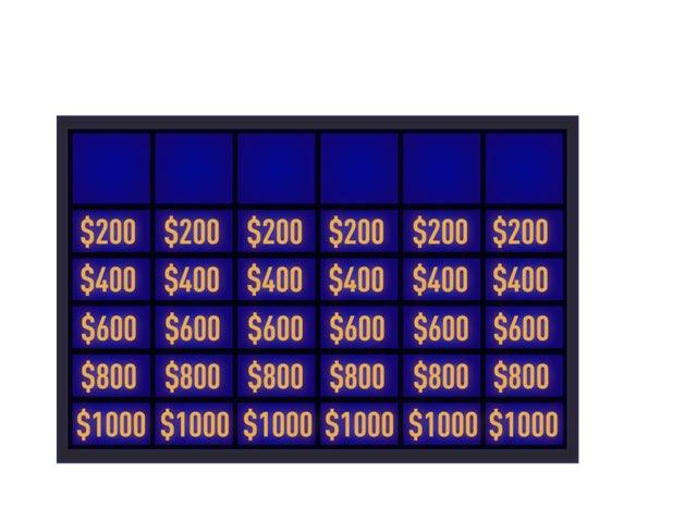Because Of Winn-Dixie Jeopardy  by Brandi Norton