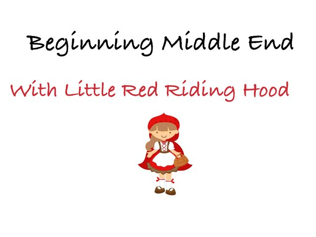 Beginning Middle End by Sarah Bosch