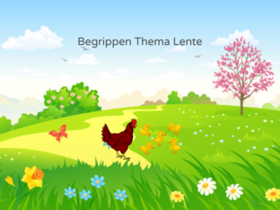 Begrippen Thema Lente by Lineke Kievit