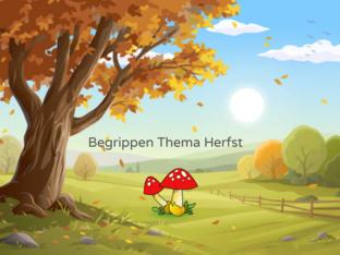 Begrippen bij thema Herfst by Lineke Kievit