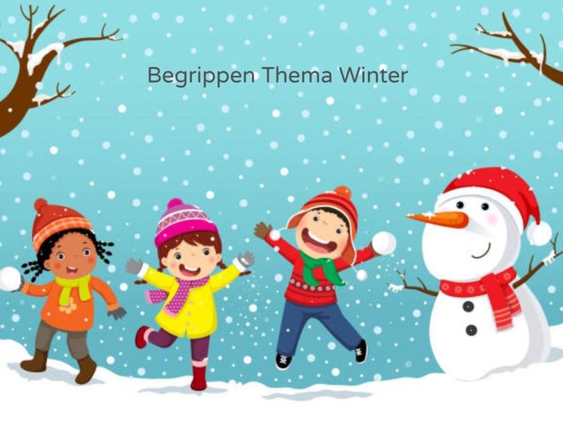 Begrippen bij thema winter by Lineke Kievit