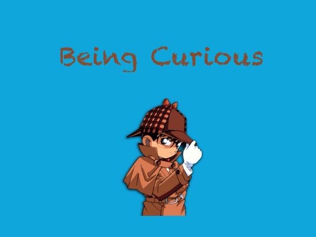 Being Curious by Kristen VanVleet