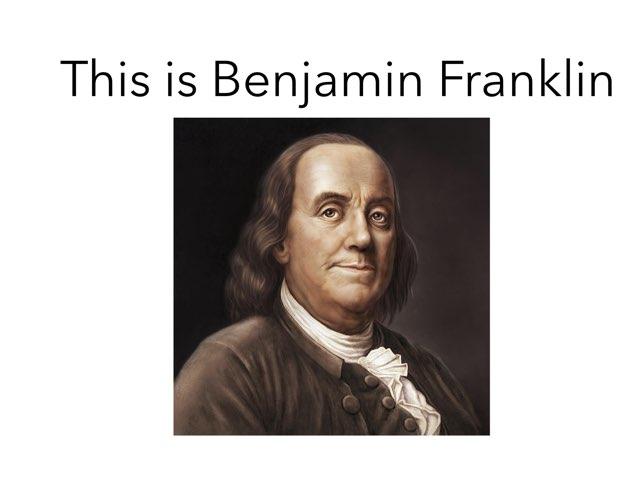 Benjamin Franklin  by Danielle Moore