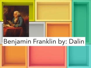 Benjamin Franklin by Jessica tamaccio