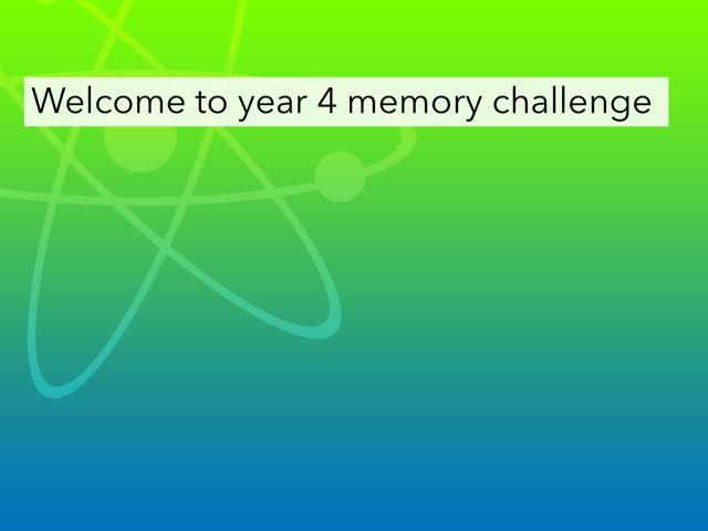 Ben's Year4 Quiz by Mr Matthews
