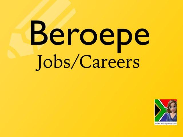 Beroepe/Careers by Juffer Juffrou